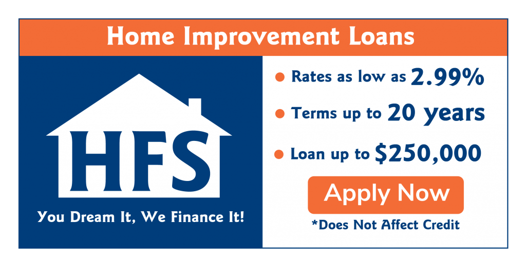 Financing from HFS Financial